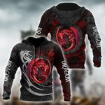Red Dragon All Over Print Shirts