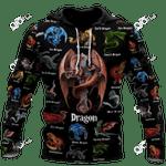 Dragon Mix All Over Print Shirts