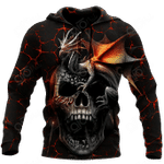 Skull Dragon Mix All Over Print Shirts