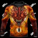 Mythical World - Dragon Eyes All Over Print Shirts