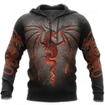 Armor Tattoo And Dungeon Dragon All Over Print Shirts