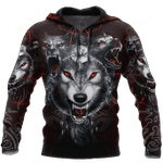 Wolf 3D Dreamcatcher All Over Print Shirts