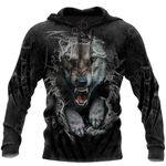 Wolf Art All Over Print Shirts