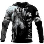 The Wolf All Over Print Shirts