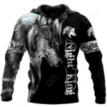 Wolf Night King All Over Print Shirts