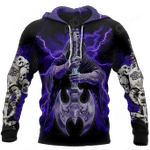Love Skull And Like Music All Over Print Shirts