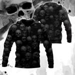 Dark Skull All Over Print Shirts