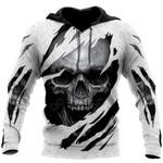 Cool Skull Art All Over Print Shirts
