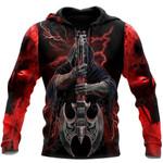 Music Skull All Over Print Shirts