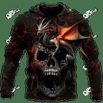 Skull Dragon All Over Print Shirts