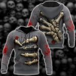 The Evil's Hand All Over Print Shirts