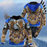 Eagle Dreamcatcher Native American All Over Print Hoodies