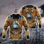 Eagle Dreamcatcher Native American Ver02 All Over Print Hoodies