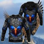 Customize Eagle Warior Aztec All Over Print Shirts