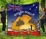 Australia Anzac Day Premium Quilt