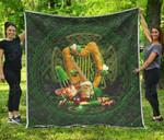 Ireland's Trickster Fairies Premium Quilt