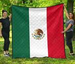 Mexico Flag Premium Quilt