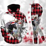 Horse Christmas TC111204HD Pullover Hoodie Or Legging