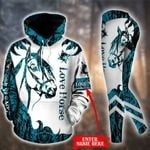 Customize Horse New Style Pullover Hoodie Or Legging