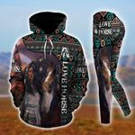 Horse Native American Pullover Hoodie Or Legging
