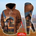 Customize Horse Lovers Pullover Hoodie Or Legging