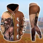 Horse Native American Style Pullover Hoodie Or Legging