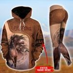 Customize Native American - Horse Pullover Hoodie Or Legging