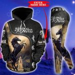 Customize Horse Riding Pullover Hoodie Or Legging