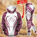 Customize Horse In My Life - Pink Pullover Hoodie Or Legging