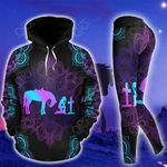 Horse Girl And Cross Pullover Hoodie Or Legging