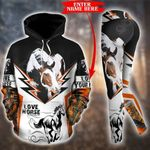 Customize Horse Cows Pullover Hoodie Or Legging