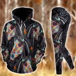 Horse Day Of The Dead Pullover Hoodie Or Legging