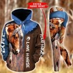 Customize Horse Farm Pullover Hoodie Or Legging
