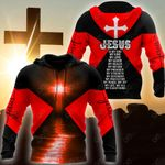 Christian Jesus Catholic 3D - Red All Over Print Shirts