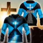 Christian Jesus Catholic 3D - Blue All Over Print Shirts