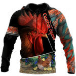 Custom Name Rooster 3D All Over Print Shirts