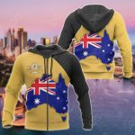Australia Map Special All Over Print Hoodies