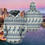 Australia Vintage All Over Print Hoodies