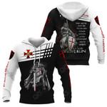 Knight Templar The Devil Saw Me All Over Print Hoodies