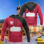 Poland Map Special All Over Print Hoodies