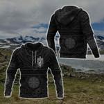 Norway Viking All Over Print Hoodies