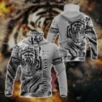 Love Tiger All Over Print Neck Gaiter Hoodie