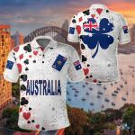 Australia Deck Of Cards All Over Print Polo Shirt
