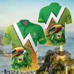 Brazil Toco Toucan All Over Print Polo Shirt