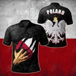 Poland In Me All Over Print Polo Shirt
