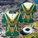 South Africa Coat Of Arms All Over Print Polo Shirt