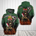 Hungarian Fire Reaper Flag All Over Print Hoodie