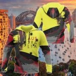 Australia Brush Athletic Style Aboriginal Colors All Over Print Hoodies