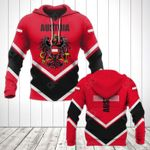 Austria Coat Of Arms Lucian Style All Over Print Hoodies