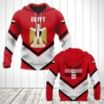 Egypt Coat Of Arms Lucian Style All Over Print Hoodies